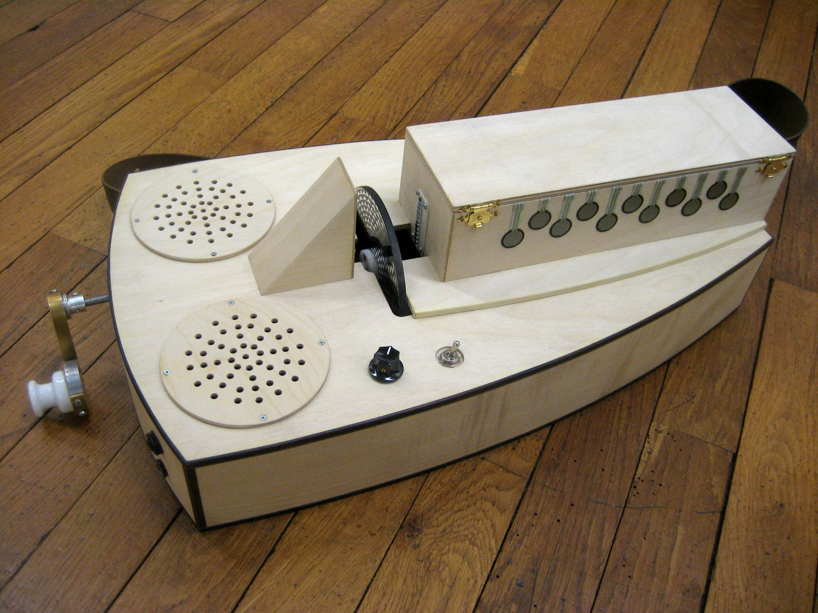 Blog Archive Tonewheels Hurdy Gurdy October 2012 Electronic Schematics Instructions